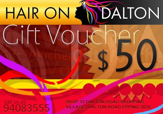 Zgłoszenie konkursowe o numerze #95 do konkursu o nazwie Stationery Design for HAIR ON DALTON