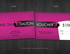 #159 untuk Stationery Design for HAIR ON DALTON oleh tzflorida