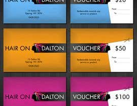 #162 para Stationery Design for HAIR ON DALTON por tzflorida