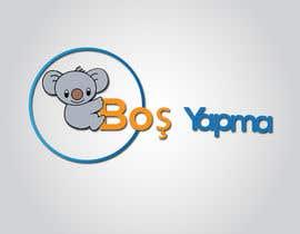 "#30 untuk Design a Koala Logo with text ""Boş Yapma"" oleh Razikul007"