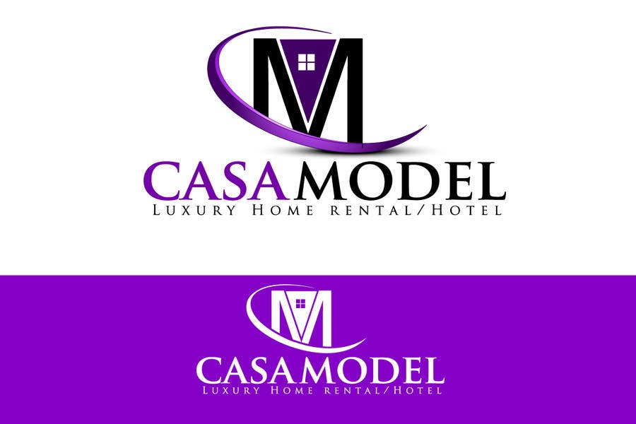 Конкурсная заявка №165 для Logo Design for Casa Model Luxury Home rental/Hotel