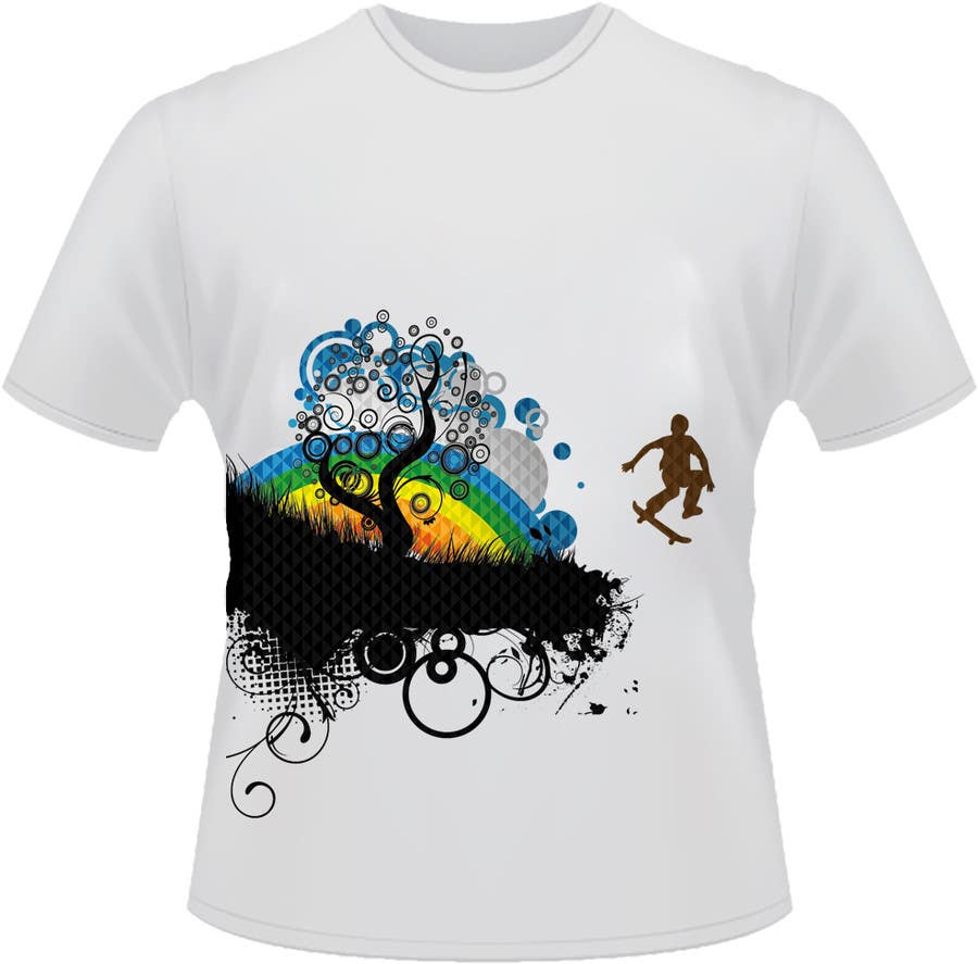 Konkurrenceindlæg #                                        40                                      for                                         T-shirt Design for customer