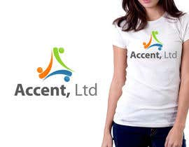 #116 untuk Logo Design for Accent, Ltd oleh csdesign78