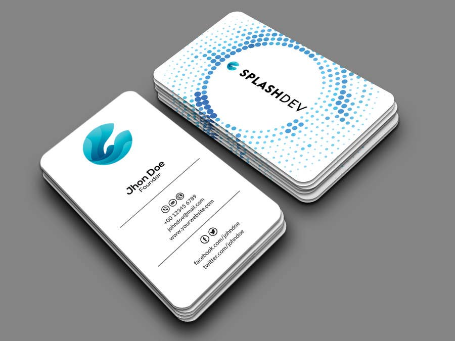 Entry 115 by mehfuz780 for create business cards and stationery for contest entry 115 for create business cards and stationery for it startup reheart Images