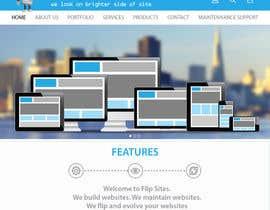 #7 para Design Website for Web design company in PSD por urvidhanesha