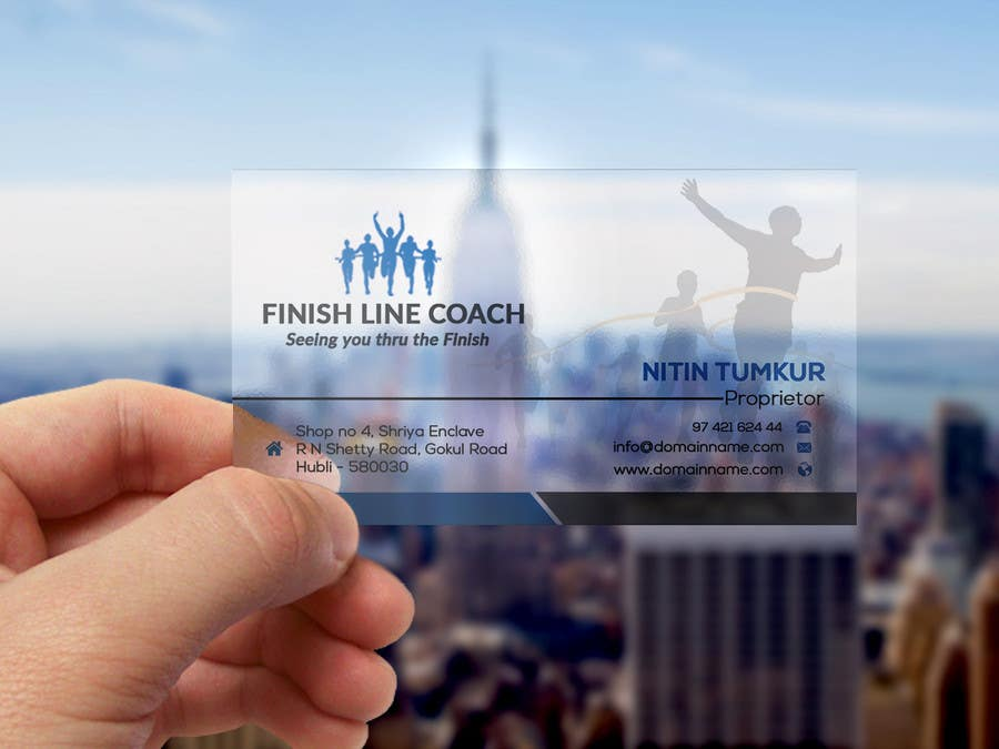 #220 for Design an innovative die cut business card! by Mastura2017