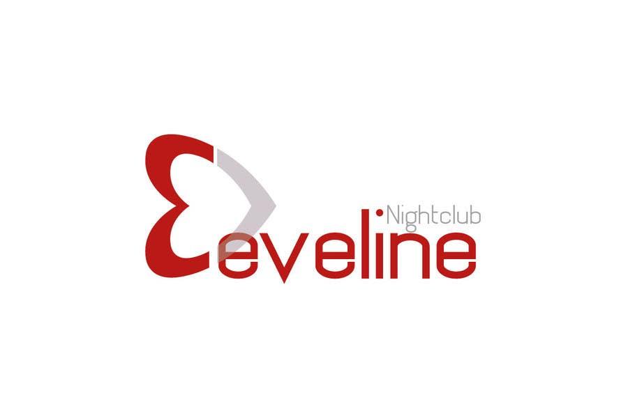 Kilpailutyö #                                        5                                      kilpailussa                                         Nightclub Eveline Logo Modification