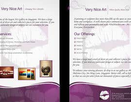 #43 para Flyer Design for Very Nice Art Pte Ltd (veryniceart.com) por syednaveedshah