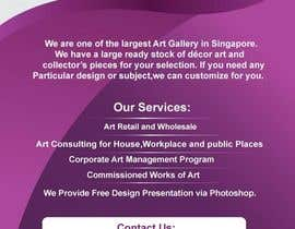 nº 33 pour Flyer Design for Very Nice Art Pte Ltd (veryniceart.com) par somnathpatra90
