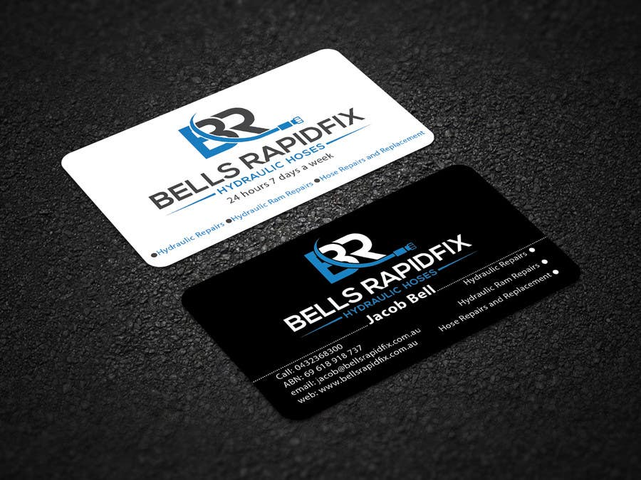 Entry #77 by bmbillal for Design front and back business cards and ...