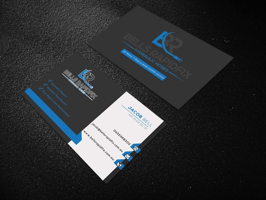 Entry #85 by imtiazshamrat for Design front and back business cards ...