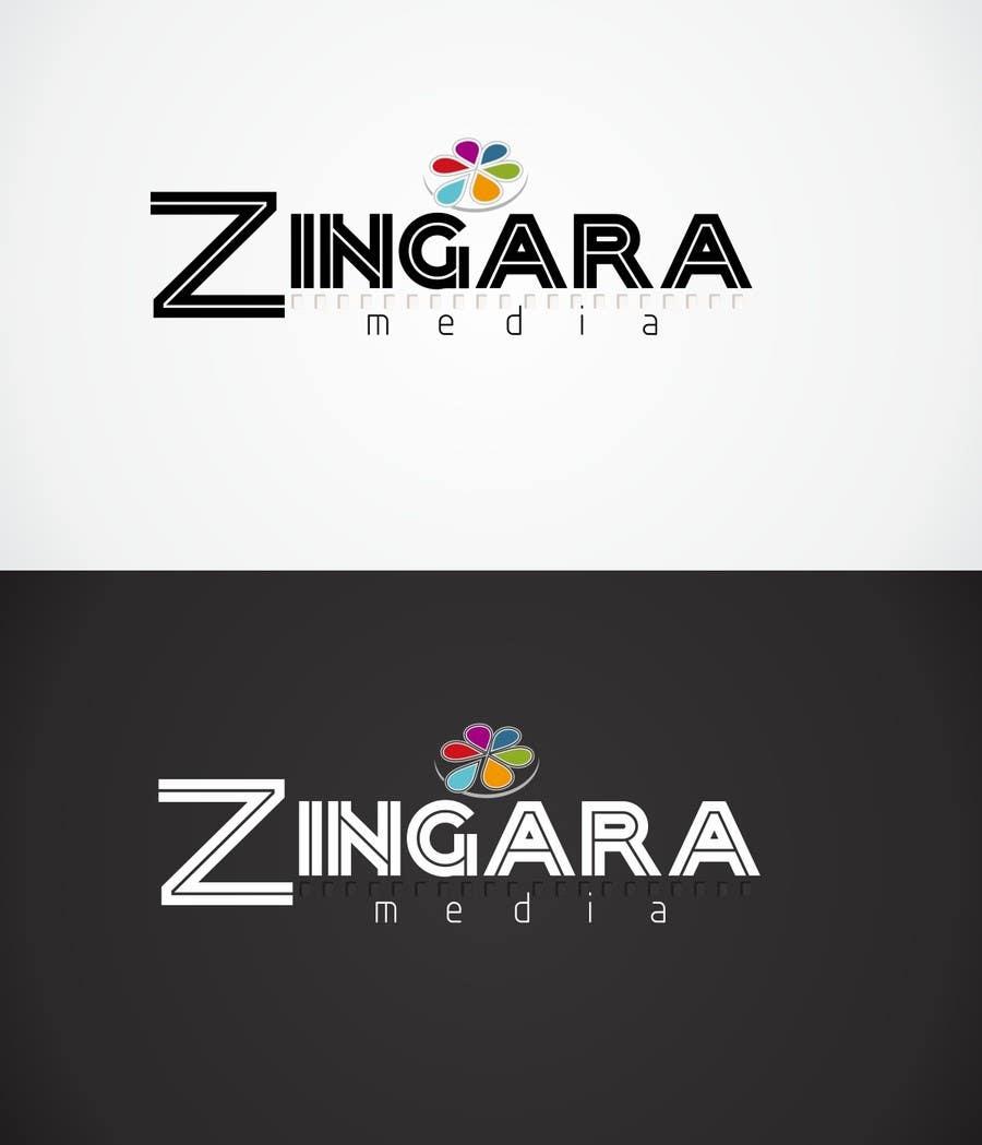 #184 for Logo Design for Zingara Media by anicolada