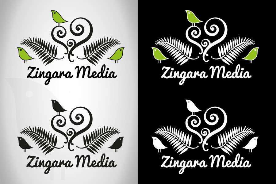 #196 for Logo Design for Zingara Media by architechno23