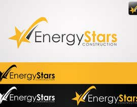#185 para Logo Design for Energy Stars Construction por Anamh