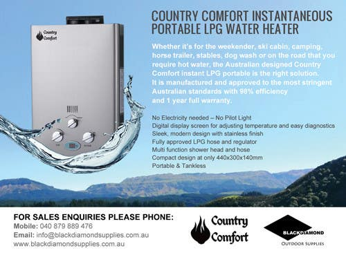 Contest Entry #                                        7                                      for                                         Advertisement Design for Black Diamond Outdoor Supplies