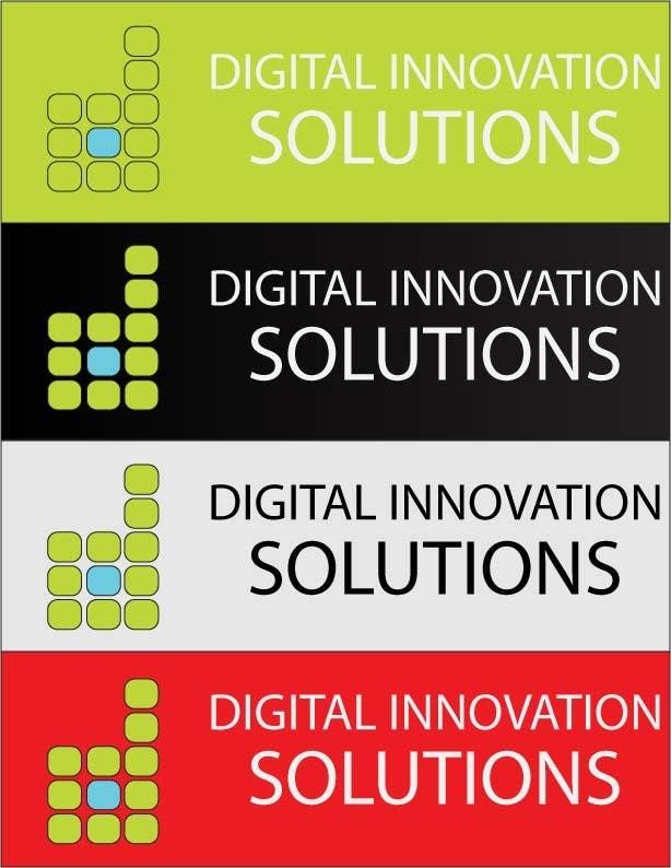 Bài tham dự cuộc thi #254 cho Logo Design for Digital Innovation Solutions
