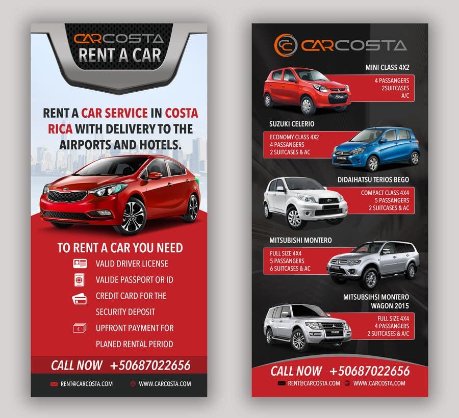 entry 6 by kreativelancer for flyer for car rental service freelancer