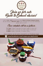 Image of                             Cupcake flyer