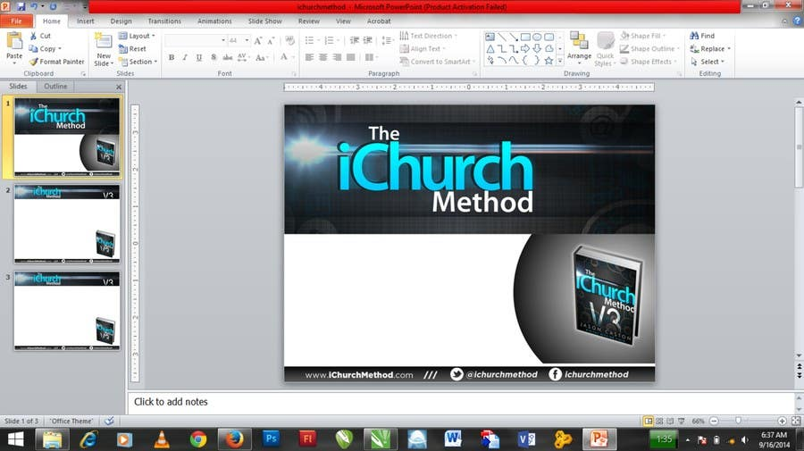Entry 5 By Sanyoniyoo For Update Powerpoint Template Freelancer
