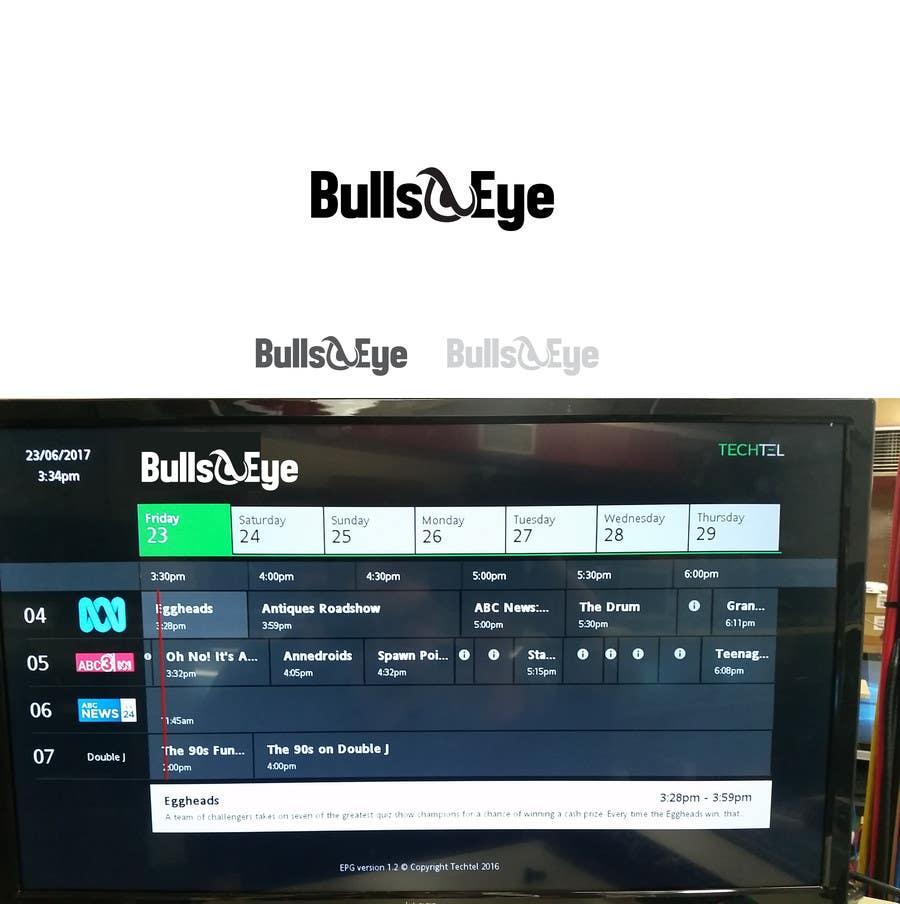 Entry #18 by dmned for Design a Logo for BullsEye (IPTV Set