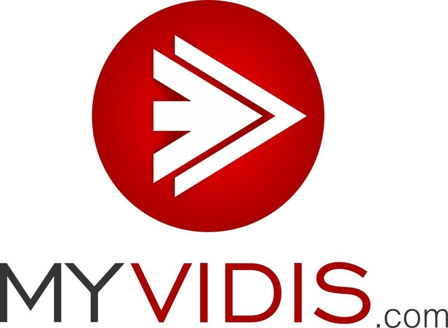 Contest Entry #596 for Logo Design for MyVidis.com