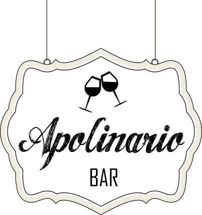 Penyertaan Peraduan #                                        10                                      untuk                                         Diseñar un logotipo for Bar Apolinario