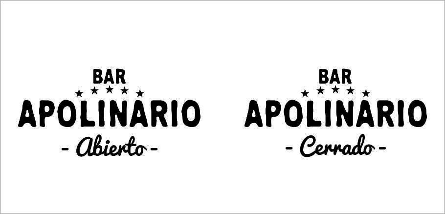 Penyertaan Peraduan #                                        29                                      untuk                                         Diseñar un logotipo for Bar Apolinario