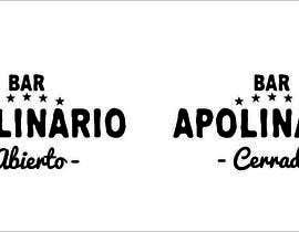 #29 untuk Diseñar un logotipo for Bar Apolinario oleh javierlizarbe