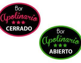 #49 untuk Diseñar un logotipo for Bar Apolinario oleh petronilo74