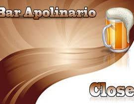 #50 untuk Diseñar un logotipo for Bar Apolinario oleh ELKRONE