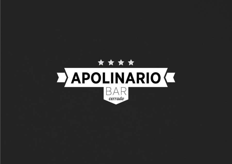 Penyertaan Peraduan #                                        43                                      untuk                                         Diseñar un logotipo for Bar Apolinario