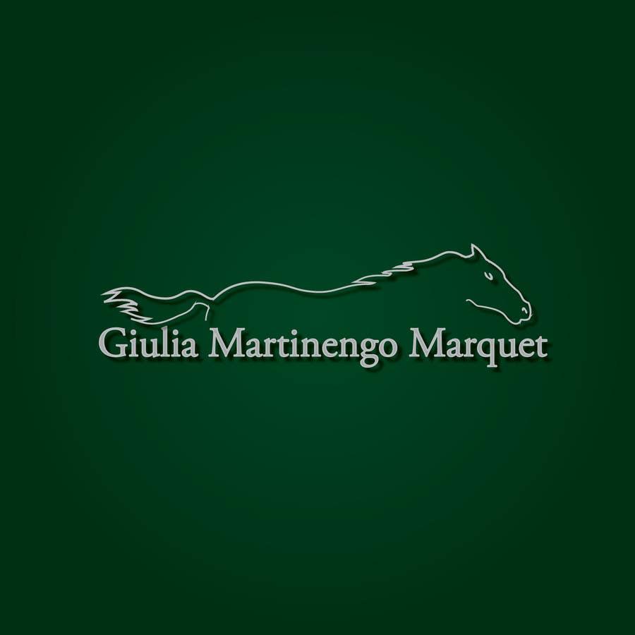 Proposition n°                                        237                                      du concours                                         Logo Design for Giulia Martinengo Marquet