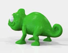 #9 untuk 3D mold design for Chameleon toy oleh tsvetannikolov