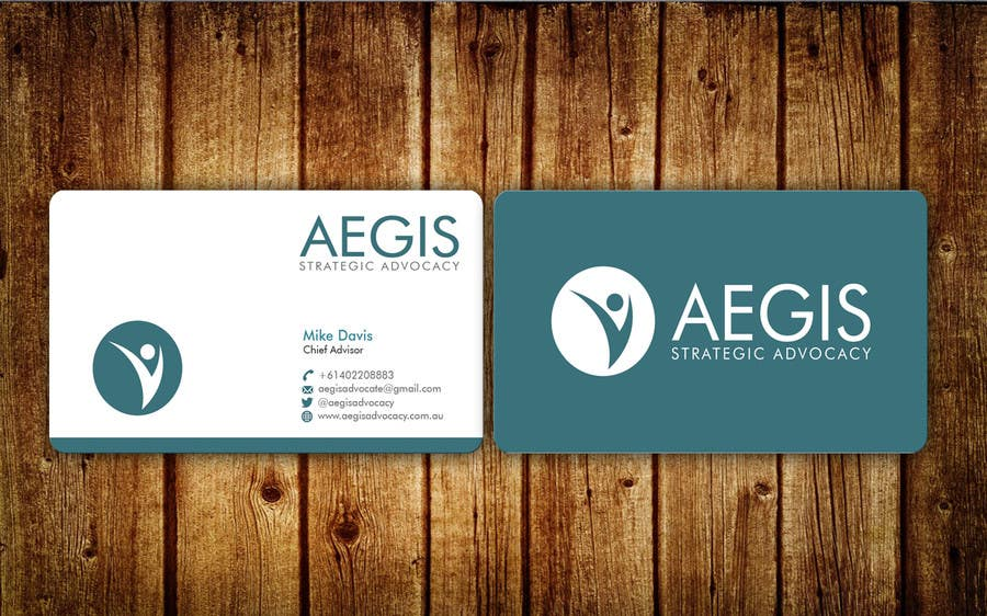 Entry #123 by aminur33 for Design some Business Cards for Aegis ...