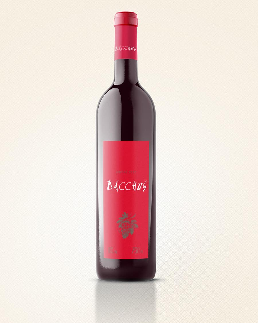 Contest Entry #89 for Print & Packaging Design for a wine brand