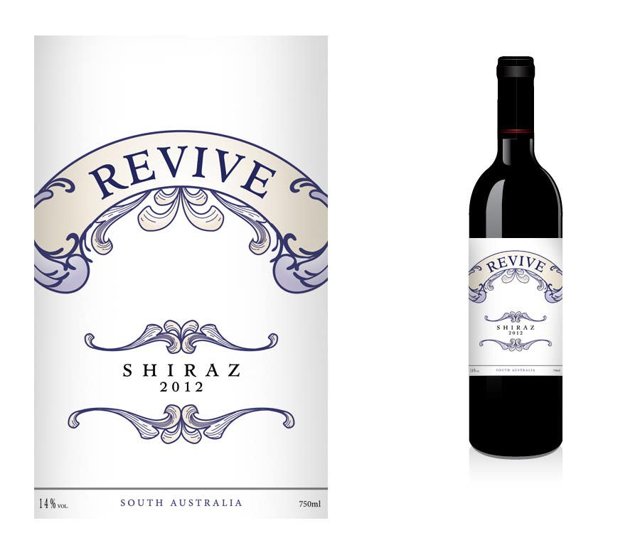 Contest Entry #35 for Print & Packaging Design for a wine brand