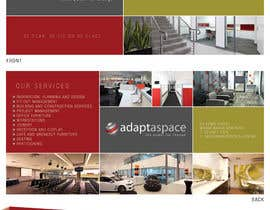 jtmarechal tarafından Graphic Design/ Marketing / Brochure Card for adaptaspace için no 11