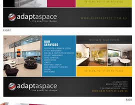 #25 cho Graphic Design/ Marketing / Brochure Card for adaptaspace bởi jtmarechal