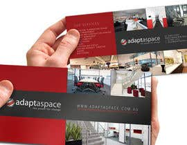 #4 для Graphic Design/ Marketing / Brochure Card for adaptaspace от jtmarechal