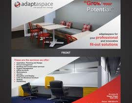 ezesol tarafından Graphic Design/ Marketing / Brochure Card for adaptaspace için no 18