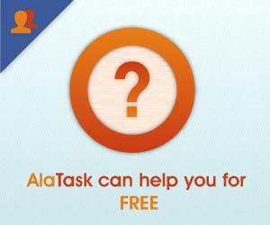 Inscrição nº 25 do Concurso para Banner Ad Design for AlaTask
