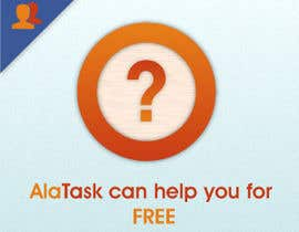 nº 25 pour Banner Ad Design for AlaTask par Pushstudios