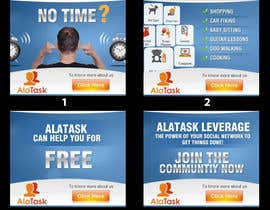 nº 29 pour Banner Ad Design for AlaTask par dreamsweb