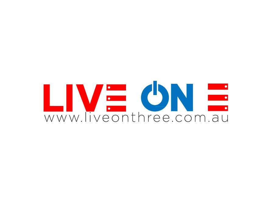 Contest Entry #                                        40                                      for                                         Logo Design for www.liveonthree.com.au