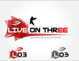 #85 for Logo Design for www.liveonthree.com.au af Arnisss