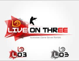 #100 for Logo Design for www.liveonthree.com.au by Arnisss