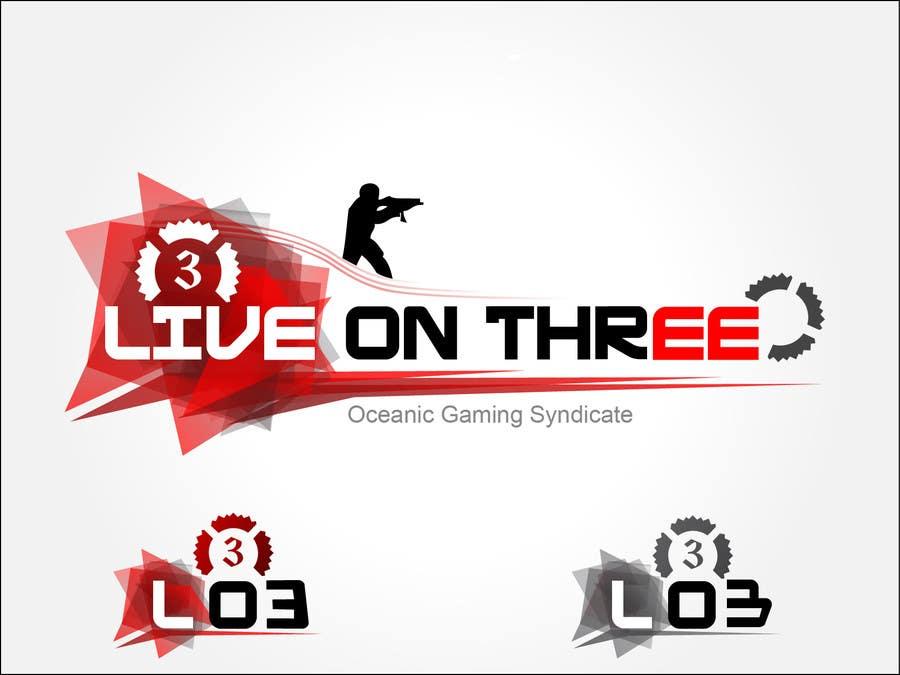 Inscrição nº                                         73                                      do Concurso para                                         Logo Design for www.liveonthree.com.au