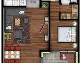#11 for Hotel Rooms Illustration af RadojeS