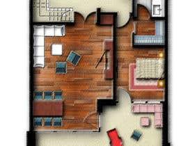 #24 for Hotel Rooms Illustration af abdomostafa2008