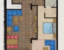 #31 for Hotel Rooms Illustration af parthamikh